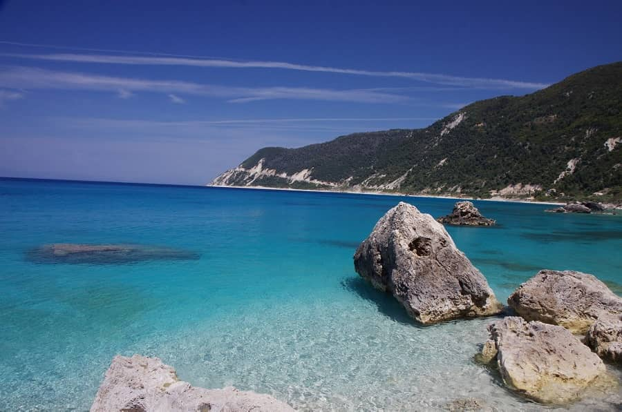 Agios Nikitas Beach Lefkada Greece