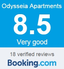 Odysseia Apartments, Lefkada, Booking Rating
